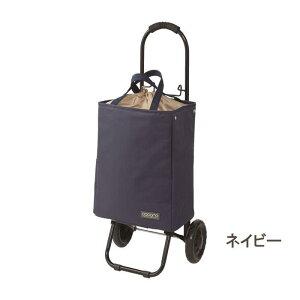 [即出荷] [ネイビー] ショッピングカート 折りたたみ おしゃれ 保冷 保温 464816 トート クーラーバッグ キャリーカート トートバッグ キャスター付き ショッピングバッグ 畳める 買い物 ピク
