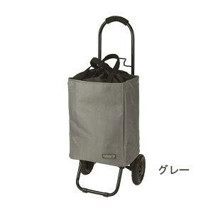 [即出荷] [グレー] ショッピングカート 折りたたみ おしゃれ 保冷 保温 464830 トート クーラーバッグ キャリーカート トートバッグ キャスター付き ショッピングバッグ 畳める 買い物 ピクニ