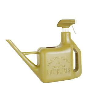 [即出荷] ジョーロ ジョウロ じょうろ 霧吹き スプレー スプレースプリンクラー おしゃれ SPRAY SPRINKLER 1600ml YYGN1000OV オリーブ ガーデニング 水差し 水さし 散水用品 ガーデン DIY ピッチャー ガ