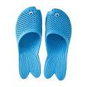 [即出荷] サンダル レディース フラット 金魚サンダル ネオンブルー フリーサイズ 23〜25cm ZFLN1910BL SPICE スパイス ビーチサンダル 靴 ぺたんこ つっかけ 軽い 軽量 歩