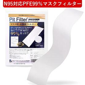 日本製 国産マスク マスク フィルター コロナウィルス対策 ピットフィルターシート マスク用フィルター 国産 洗える マスク フィルター 日本製 ウイルス N95対応フィルター PFE99%フィルター マスク用高機能フィルター アレルキャッチャー