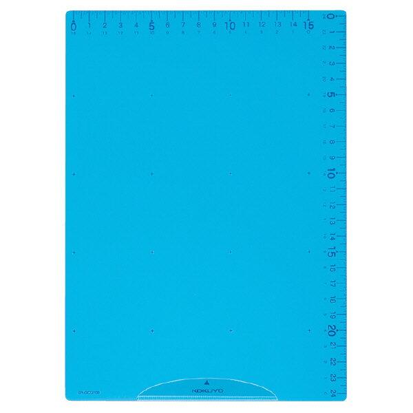 【コクヨ】下敷き〈まなびすと〉ブルー GY-GCG100B