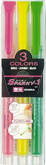 ◆ ◆ fluorescent Sparky 1 3 color set