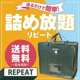 宅配クリーニング 詰め放題【20個限定】リピートビッグ袋いっぱいおまとめクリーニング緑の集荷バックをお持ちの方限定リピートサービスです【関東まで送料無料】