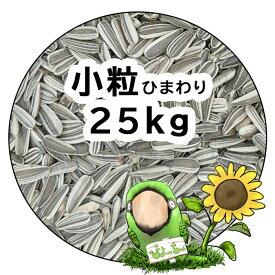 小粒 ひまわりの種 25kg×1 : 鳥の餌 えさ