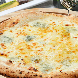 【冷凍ピザ】『ゴルゴンゾーラと蜂蜜のピッツァ』直径20cm 1枚信州の薪と石窯で焼きあげる香り豊かな本格ナポリピザ[ピザ][ナポリピザ][ピッツァ][pizza]