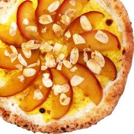数量限定『「信州りんご」のドルチェピッツァ』直径20cm 1枚信州の薪と石窯で焼きあげる香り豊かな本格ナポリピザ【冷凍ピザ】