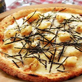 【冷凍ピザ】『ホクホクジャガイモと明太子のクリームピッツァ』直径20cm 1枚信州の薪と石窯で焼きあげる香り豊かな本格ナポリピザ[ピザ][ナポリピザ][ピッツァ][pizza]