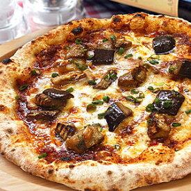 冷凍ピザ『熟成味噌ソースのナスミートピッツァ』 お試しピザセットと同梱で送料無料!石窯薪木で焼きあげるピザ職人手作りの石窯ナポリピッツァです!宅配ピザよりピザ通販![ピザ pizza 冷凍]