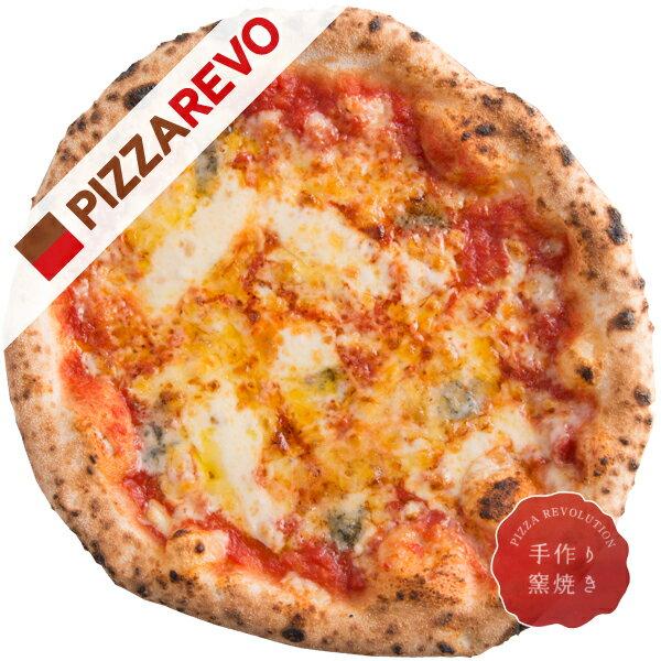【佐川出荷専用カート】クワトロフォルマッジ・ロッソ【冷凍ピザ専門店】チーズ好きの方に絶対食べてほしい。4種類の厳選チーズをふんだんに使用した一枚。