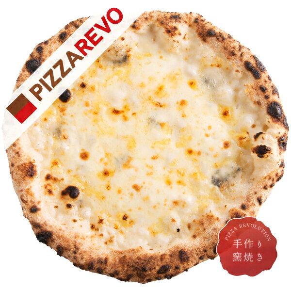 【佐川出荷専用カート】クワトロフォルマッジ・ビアンカ【冷凍ピザ専門店】白いチーズ好きにはたまらない。トマトソースベースのロッソに加えビアンカ登場。