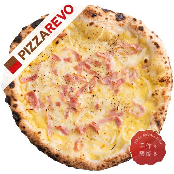 【佐川出荷専用カート】濃厚カルボナーラ【冷凍ピザ専門店】濃厚なカルボナーラソースとピザが絶妙にマッチ。