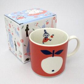 リトルミイ Collar マグカップ ラッピング対応 ムーミン コップ レンジOK 食器 お祝い お返し 日本製 箱入り ギフト プレゼント クリスマス 誕生日