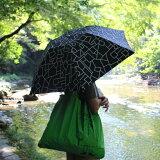 晴雨兼用北欧デザイナー折りたたみ日傘クイックオープンUVカット遮光はっ水防水korkoLINEDROPS北欧雑貨