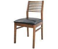 【送料無料】椅子いすチェアダイニングチェア木製チェア食卓チェアキッチン天然木一人暮らしひとり暮しファミリーリビングダイニングワンルームブラウン茶お洒落オシャレシンプルシックレトロイス腰掛けPLANK