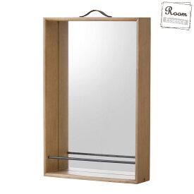 【ミラー】 鏡 卓上ミラー 鏡 ミラー 壁掛け ウォールミラー 壁鏡 天然木 強化ミラー 本革 壁用ミラー 化粧ミラー 化粧鏡 壁鏡 ドレッサー 収納ミラー おしゃれ 北欧 シンプル モダン ナチュラル