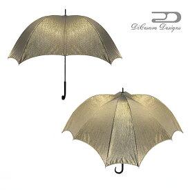 大人のための、大人の雨傘 『CROSSWalker 晴雨兼用日傘 UNISEX GOLDJACQUARD』デザイナーズブランド 傘 雨傘 かさ カサ おしゃれ お洒落 かわいい 女性用 婦人用 深張り ドーム型 デザイン 通販 高級 上品 カラフル プレゼント