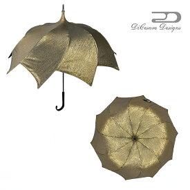 大人のための、大人の雨傘 『SpiralWalker 晴雨兼用日傘 UNISEX GOLDJACQUARD』デザイナーズブランド 傘 雨傘 かさ カサ おしゃれ お洒落 かわいい 女性用 婦人用 深張り ドーム型 デザイン 通販 高級 上品 カラフル プレゼント