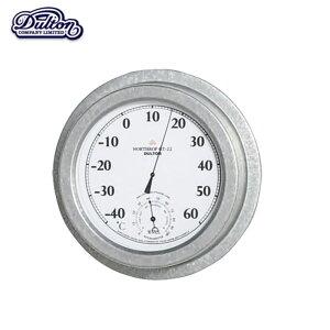 【サーモ ハイグロメーター (ノースロップ GT-22 )】 THERMO-HYGROMETER (NORTHROP GT-22 ) アナログの美しさを堪能する湿温度計 時計 壁掛け時計 白黒時計 クロック ウォールクロック シンプル時計 温度
