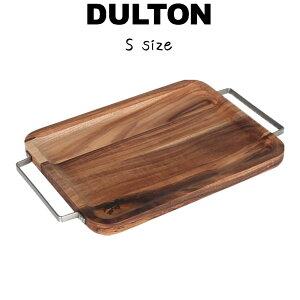 【アカシア トレイ ウィズ メタル ハンドル レクタングル S】 ダルトン DULTON トレー お盆 アカシア材 18-0ステンレス おしゃれ シンプル ナチュラル 北欧 可愛い かわいい 木製 天然木 ウッド