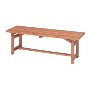 天然木 ガーデンベンチ 120cm ベンチ 長椅子 長イス ベンチチェア ガーデンチェア ガーデンチェアー 木製 ベランダ テラス シンプル 縁側 背もたれ無し ガーデンファニチャー コンパクト ガー