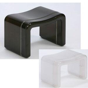 正規販売店 バス用品『風呂椅子角 MX』 バススツール バスチェア バスチェアー 風呂椅子 風呂イス 風呂いす お風呂チェアー 日本製 プラスチック製 黒 ブラック 白 ホワイト コの字型 汚れに