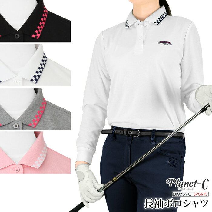 【送料無料】 ポロシャツ レディース 吸汗速乾 ゴルフ テニス ウォーキング スポーツウェア 鹿の子 市松 Planet-C pc-602 05P03Dec16 【メール便】