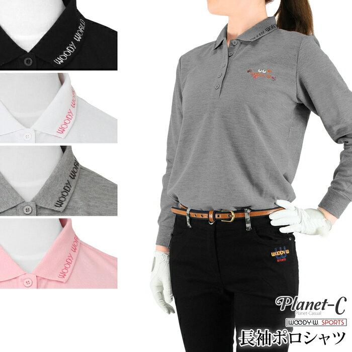 【送料無料】 ポロシャツ レディース 吸汗速乾 ゴルフ テニス ウォーキング スポーツウェア 鹿の子 ロゴ Planet-C pc-603 05P03Dec16 【メール便】