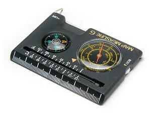 【メール便配送可能】コンパス 方位磁石 方位磁針 G-MAP6 日本製 クリアー光学