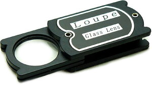 ルーペ 拡大鏡 高倍率 虫眼鏡 4倍 24mm L-41N 日本製 クリアー光学