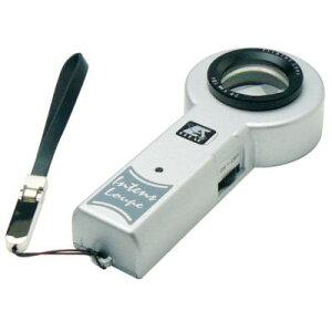 ルーペ 拡大鏡 LEDライト付き 高性能 高倍率 虫眼鏡 5倍 30mm I-CG5N 日本製 クリアー光学