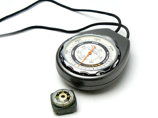 高度計 方位磁石付 G-620N 日本製 エバートラスト