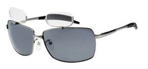 偏光サングラス 上部 老眼鏡付 遠近両用メガネ おしゃれ スモーク偏光レンズ 釣り メガネケース付 男性用 女性用 シニアグラス 釣り仕掛け