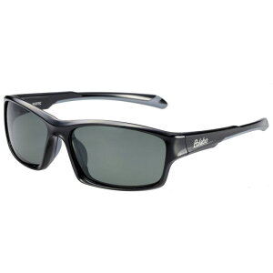 偏光サングラス 釣り 偏光度99% UVカット ドライブ スポーツ メガネケース付 TRソフトフレーム BT-1A グリーンスモーク偏光レンズ ブラック/グレー