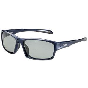 偏光サングラス 釣り 偏光度99% UVカット ドライブ スポーツ メガネケース付 TRソフトフレーム BT-1C ライトスモーク偏光レンズ D.ネイビー/ブラック