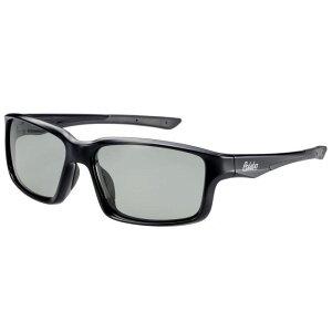 偏光サングラス 釣り 偏光度99% UVカット ドライブ スポーツ メガネケース付 TRソフトフレーム BT-2A ライトスモーク偏光レンズ ブラック