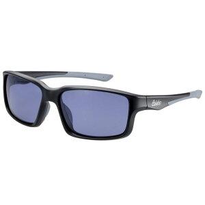 偏光サングラス 釣り 偏光度99% UVカット ドライブ スポーツ メガネケース付 TRソフトフレーム BT-2B スモーク偏光レンズ M.ブラック/グレー