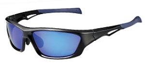 偏光サングラス 釣り 偏光度99% ケース付 FW-6A サイトブルー REVOミラー ブラック ネイビーブルー