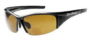 偏光サングラス 老眼鏡付 男性用 女性用 おしゃれ ZSB-201Bブラウン ブラック