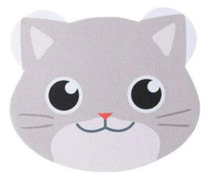 【メール便配送可能】メガネ拭き 10枚入り レンズクロス 眼鏡拭き かわいい 動物 猫 ネコ
