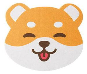 【メール便配送可能】メガネ拭き 10枚入り レンズクロス 眼鏡拭き かわいい 動物 犬 イヌ 柴犬