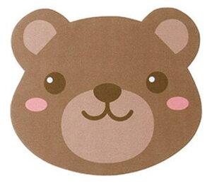 【メール便配送可能】メガネ拭き 10枚入り レンズクロス 眼鏡拭き かわいい 動物 熊 クマ