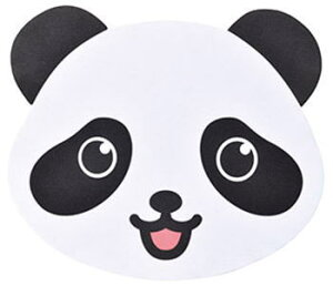 【メール便配送可能】メガネ拭き 10枚入り レンズクロス 眼鏡拭き かわいい 動物 パンダ