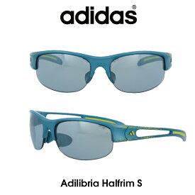 Adidas (アディダス) サングラス Adilibria Halfrim S アディリブリア ハーフリム A389-01-6072 グレーメタリック レンズ 人気モデル UVカット アウトドア ドライブ スポーツ