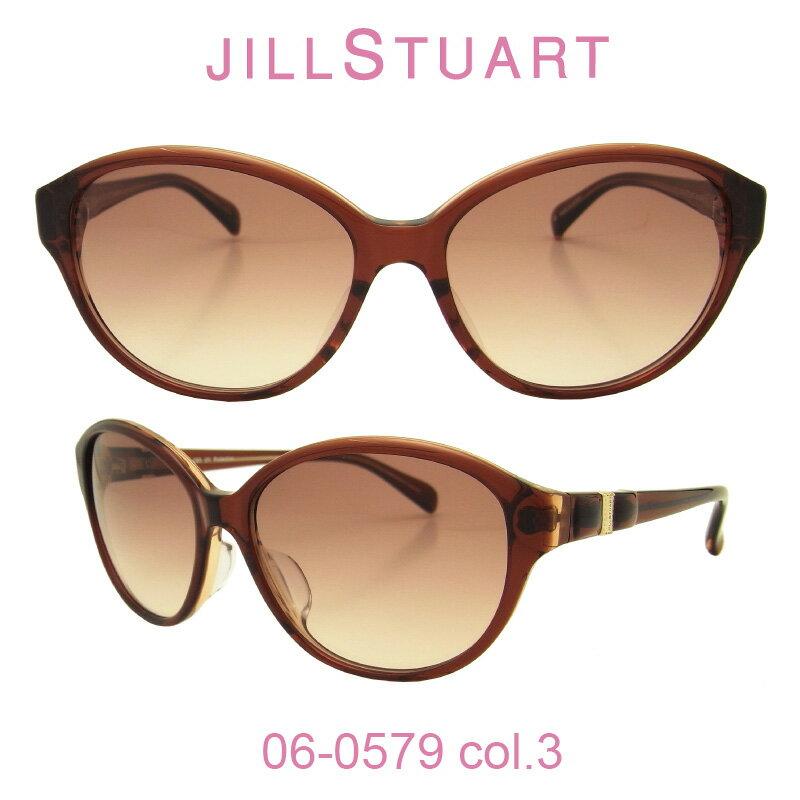 【国内正規品】ジルスチュアート サングラスJILL STUART(ジルスチュアート) 06-0579 カラー3 人気モデル UVカット キュート おしゃれ フェミニン