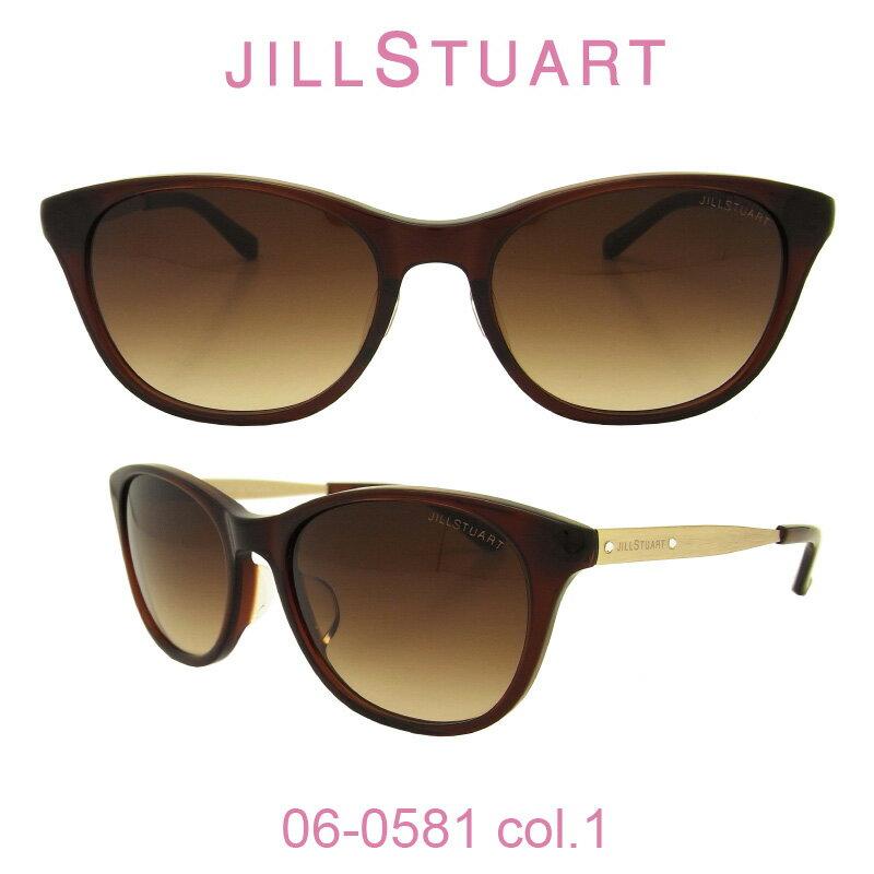 【国内正規品】ジルスチュアート サングラスJILL STUART(ジルスチュアート) 06-0581 カラー1 人気モデル UVカット キュート おしゃれ フェミニン