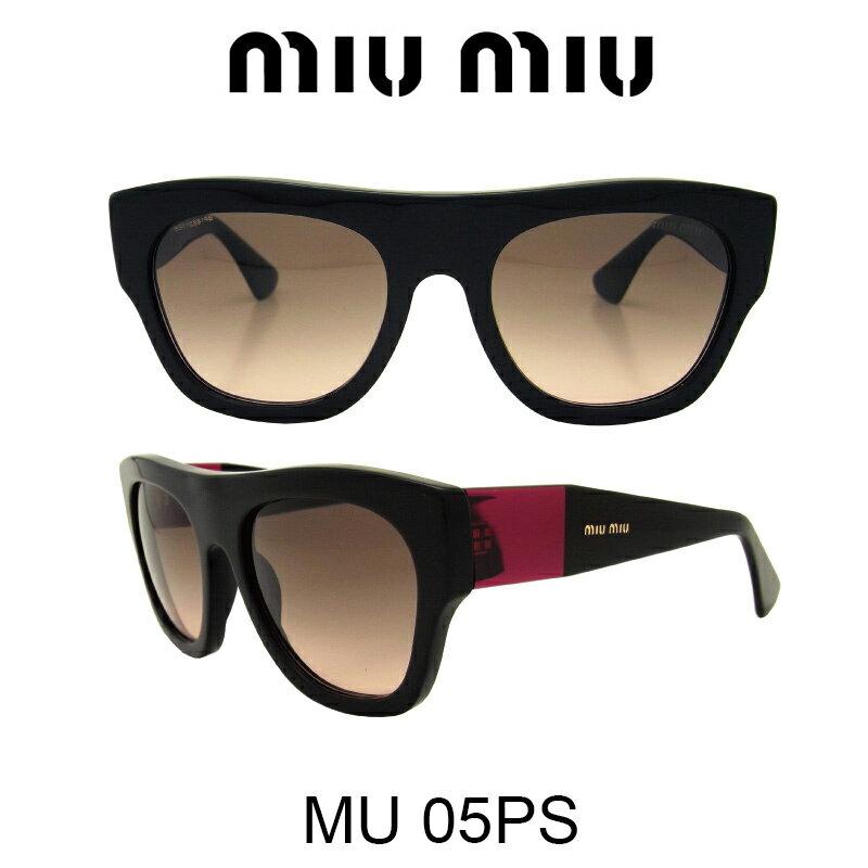 【国内正規品】MIU MIU ミュウミュウ サングラス MU05PS 1AB1E2 人気モデル UVカット おしゃれ かわいいサングラス レディース uvカット