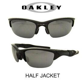 OAKLEY オークリー サングラス (アジアンフィット) ハーフジャケット2.0 ポリッシュドブラック/ブラックイリジウム 野球 ゴルフ(Sunglasses HALF JACKET 9153-01 Plished Black/Black Iridium)