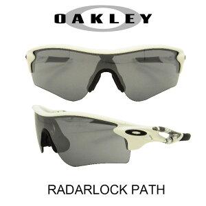 OAKLEY オークリー サングラス (アジアンフィット) レーダーロックパス マットホワイト/スレイトイリジウム 野球 ゴルフ(Sunglasses RADARLOCK PATH 9206-02 Matte White/Slate Iridium)