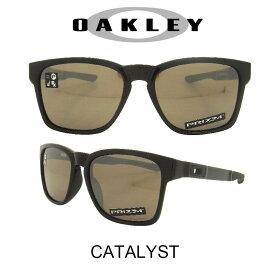 OAKLEY オークリー サングラス カタリスト ポリッシュドブラック/プリズムブラックイリジウム 野球 ゴルフ(Sunglasses CATALYST 9272-2455 Polished Black/Prizm Black Iridium)